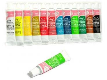 Farbki akrylowe 12 szt
