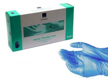 Rękawiczki rozm.S nitrylowe...