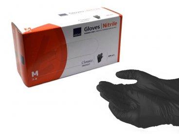 Rękawiczki rozm.M nitrylowe...