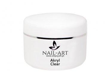 AKRYL Nail-Art Clear przezroczysty 15g