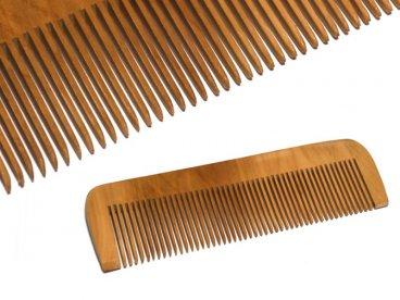 Grzebień do włosów drewniany