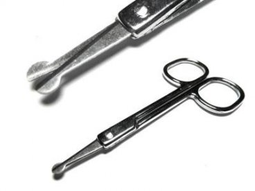 Nożyczki do paznokci zaokrąglone dla dzieci