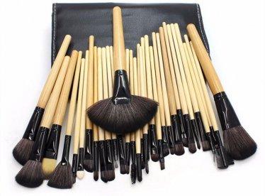Zestaw pędzli do makijażu 32 szt kabuki