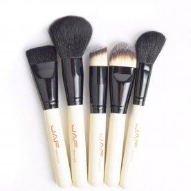 Zestaw pędzli do makijażu 15 szt kabuki + etui