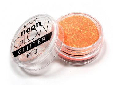 Brokat Neon Glow Glitter 03