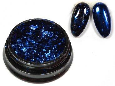 Efekt niebieskiego lustra w płatkach