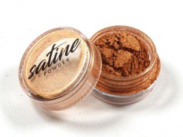 Pyłek Satine efekt satynowy brązowy bronze