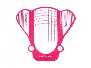 Formy Summer pink szerokie 100 szt