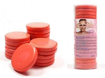 Wosk twardy bezpaskowy w tabletkach 1kg różowy