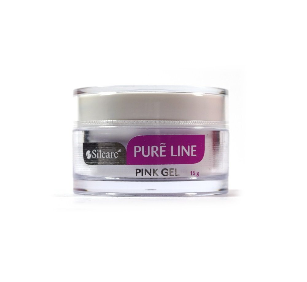 Żel UV Silcare Pure Line Pink 15g