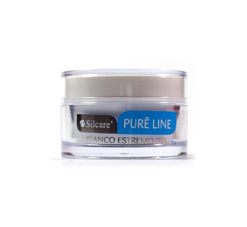 Żel UV Silcare Pure Line Bianco 15g