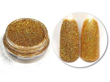 Efekt Holo Gold 04 złoty holograficzny