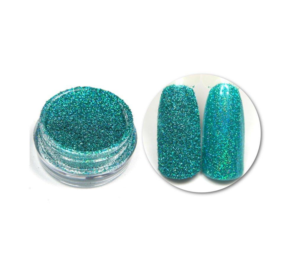 Efekt Holo Turquoise 06 turkusowy holograficzny