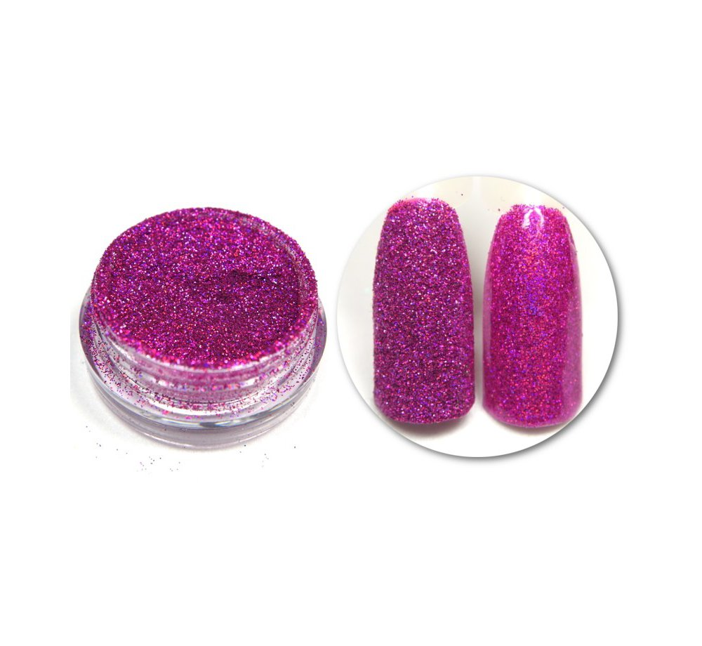 Efekt Holo Pink 09 różowy holograficzny