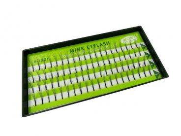 Rzęsy kępki 10 mm MINK NORKI