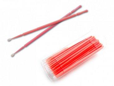 APLIKATORY do rzęs 100 szt + pudełko Microbrush