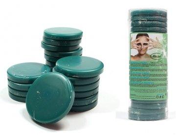 Wosk twardy bezpaskowy w tabletkach 1kg zielony