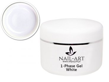 ŻEL UV NAIL-ART white 50ml